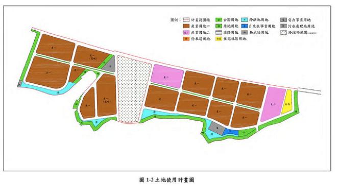 台中市豐洲科技工業園區第二期智慧機械園區